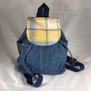 Longaberger Denim Backpack